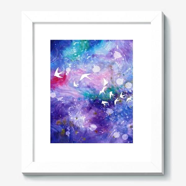 Картина «Космический полёт ласточек»