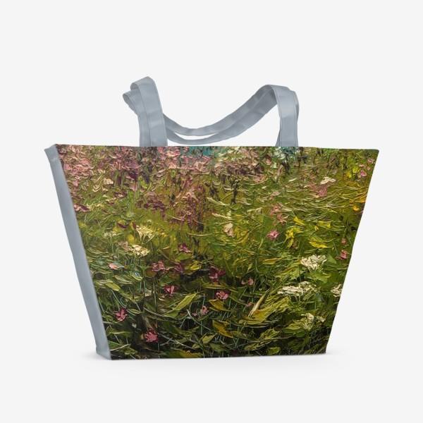 Пляжная сумка «Морское побережье»