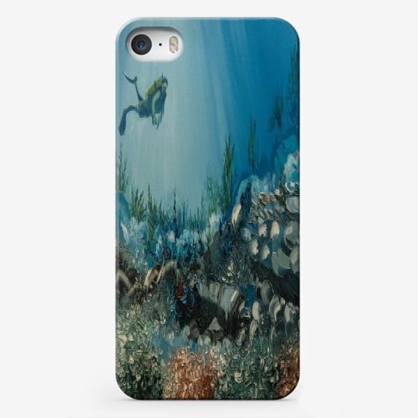Чехол iPhone «На дне морском»