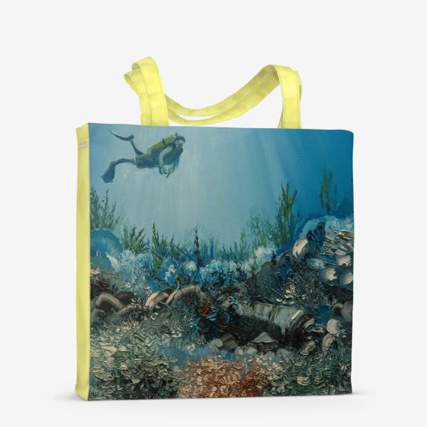 Сумка-шоппер «На дне морском»