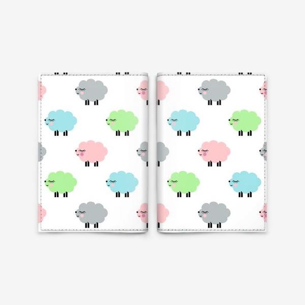 Обложка для паспорта «овечки»