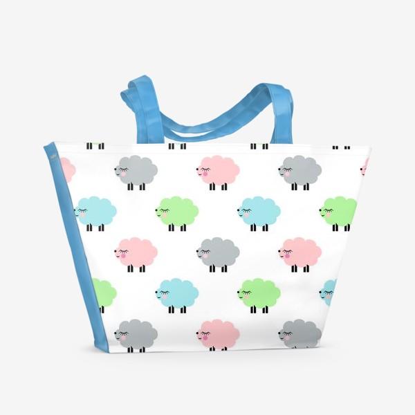Пляжная сумка «овечки»
