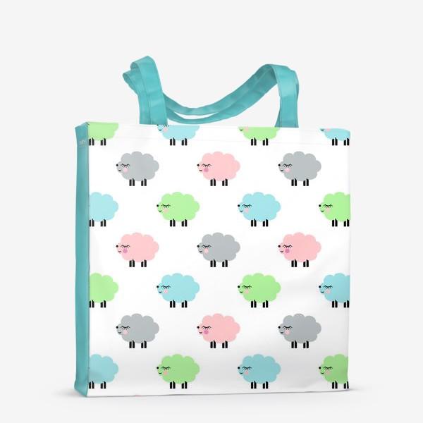 Сумка-шоппер «овечки»