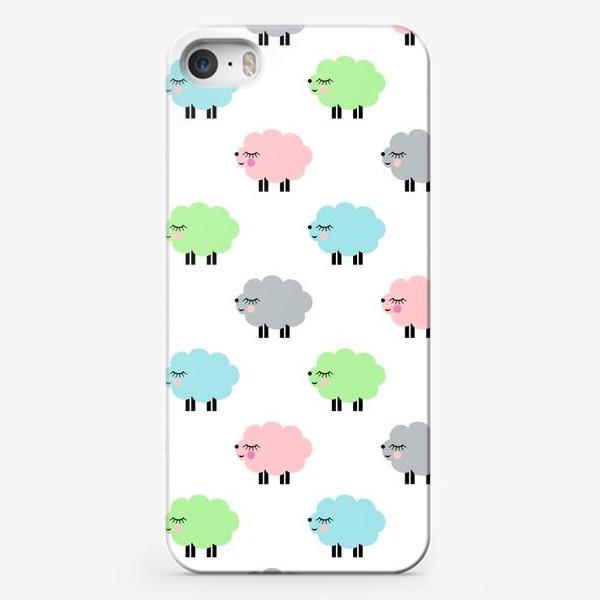 Чехол iPhone «овечки»