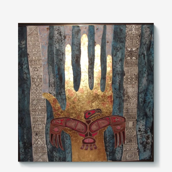 Холст «Моя рука Владыка»