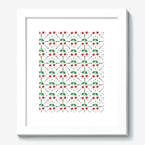 Картина «Сладкая вишня. Фрукты. Ягоды»
