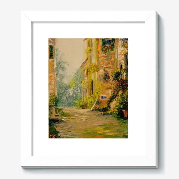 Картина «Старая улочка  Прованса»