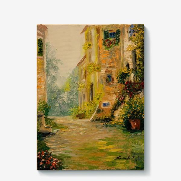 Холст «Старая улочка  Прованса»