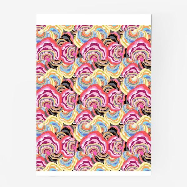 Постер «Абстрактный интересный узор»
