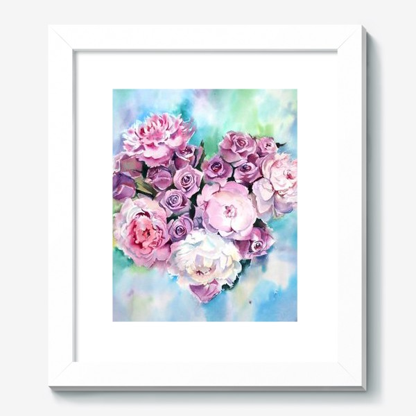 Картина «Сердце цветов»