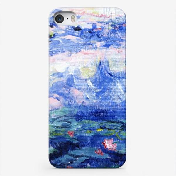 Чехол iPhone «Кувшинки Моне»