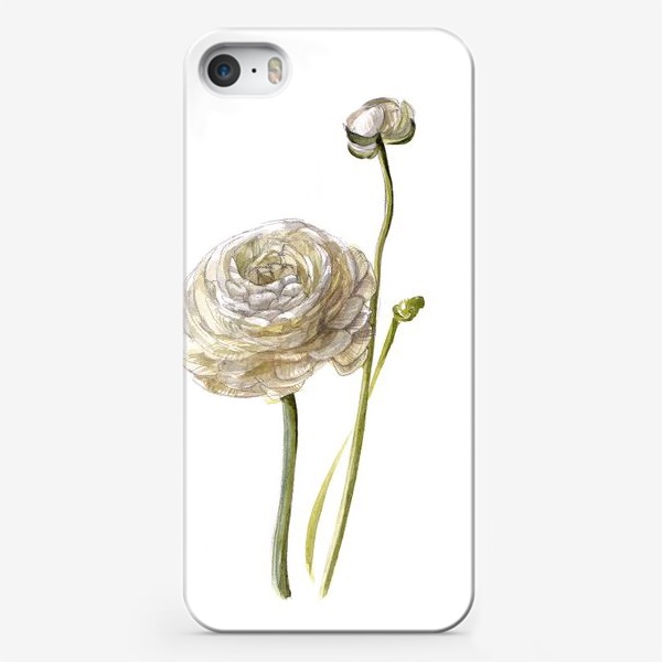Чехол iPhone «Лютик белый»