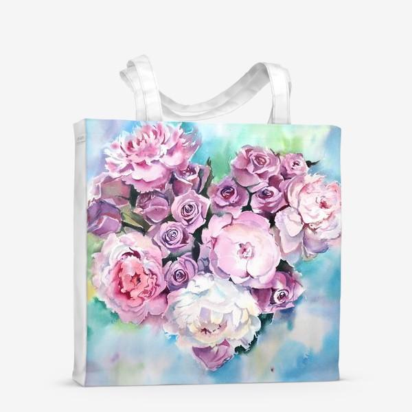 Сумка-шоппер «Сердце цветов»
