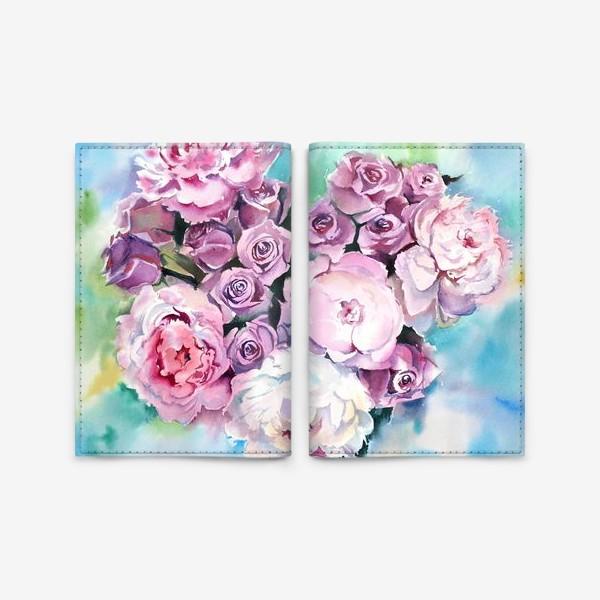 Обложка для паспорта «Сердце цветов»