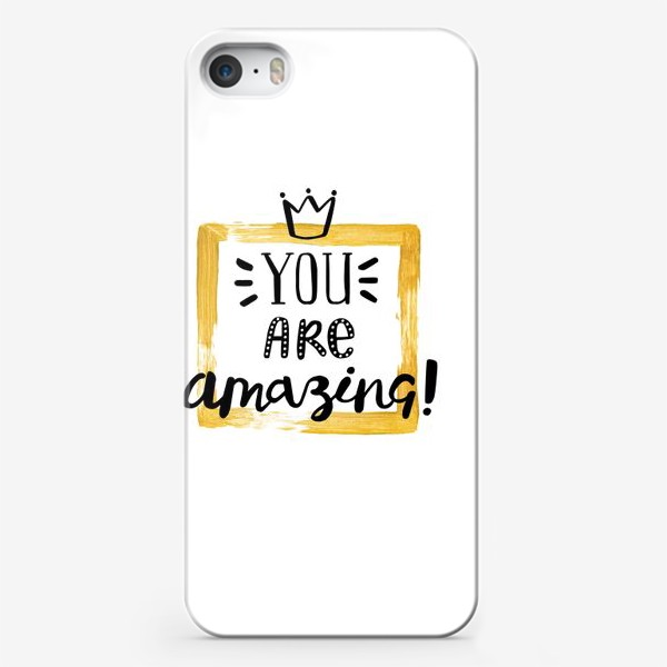 Чехол iPhone «Amazing»