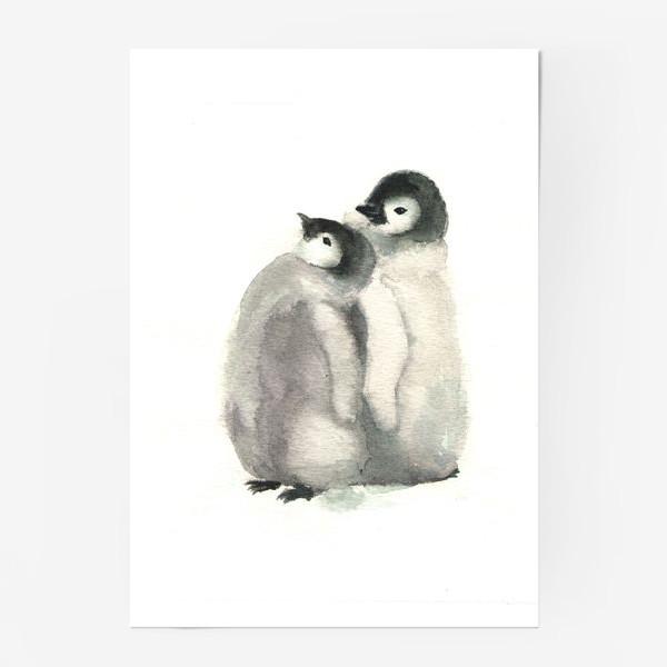 """Постер «""""Пингвинята""""»"""