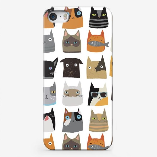 Чехол iPhone «Cats and kittens»