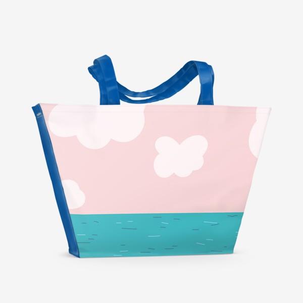 Пляжная сумка «Опасный парень»