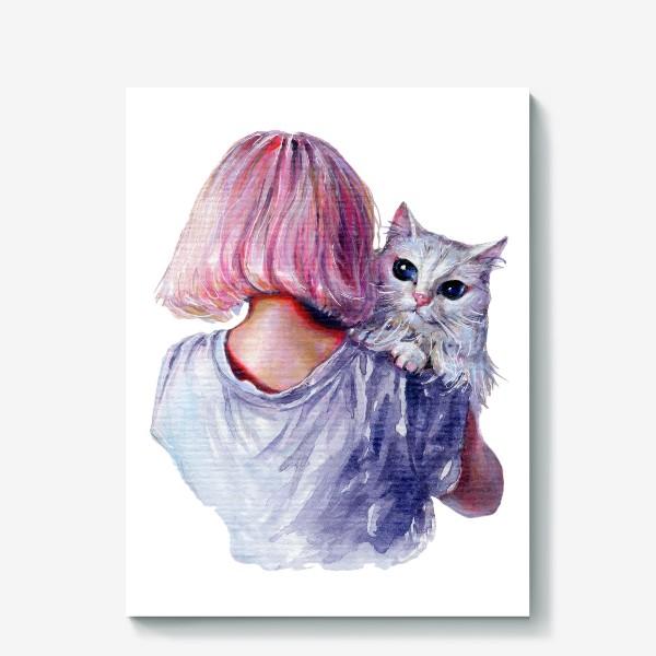 Холст «Pink Cuddles»