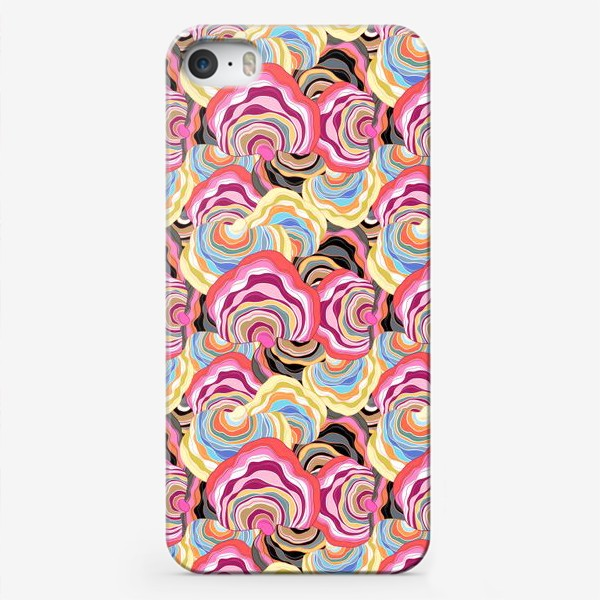 Чехол iPhone «Абстрактный интересный узор»