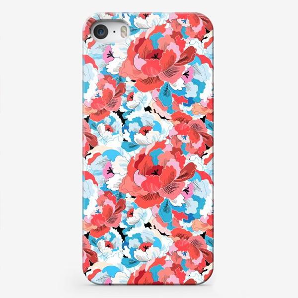 Чехол iPhone «Прекрасный яркий цветочный узор»