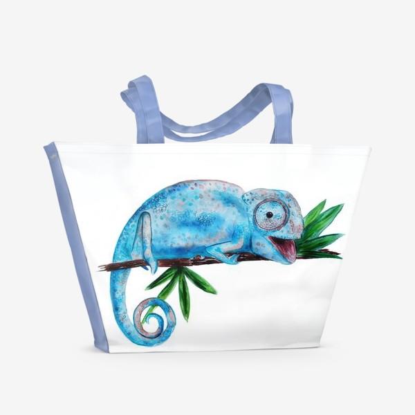 Пляжная сумка «Хамелеон»
