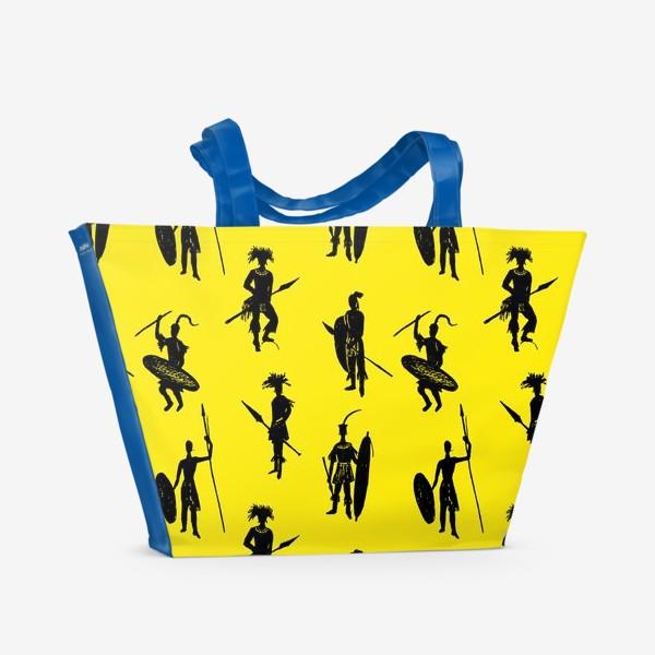 Пляжная сумка «Zulu warriors»