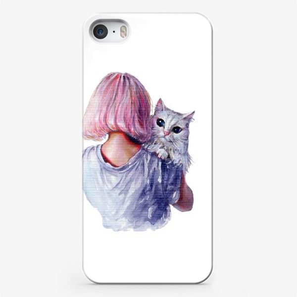 Чехол iPhone «Pink Cuddles»