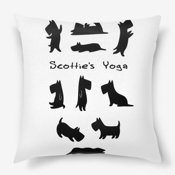 Подушка «Скотче-Йога»