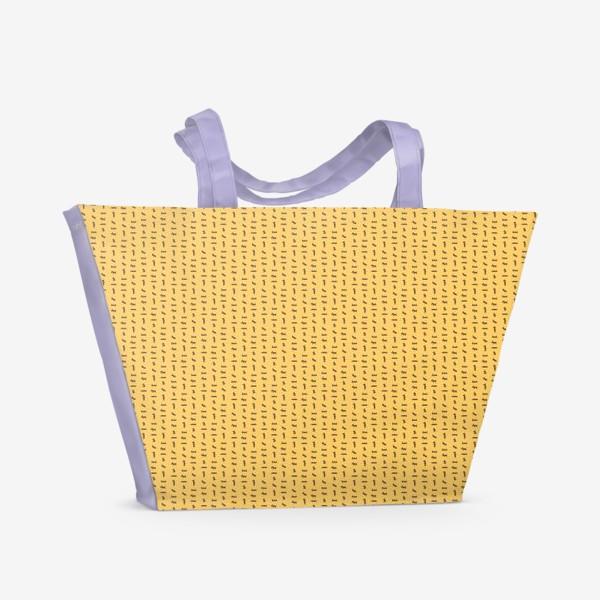 Пляжная сумка «Скотчемания»