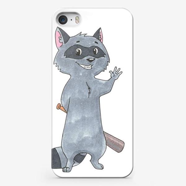 Чехол iPhone «Крошка енот»