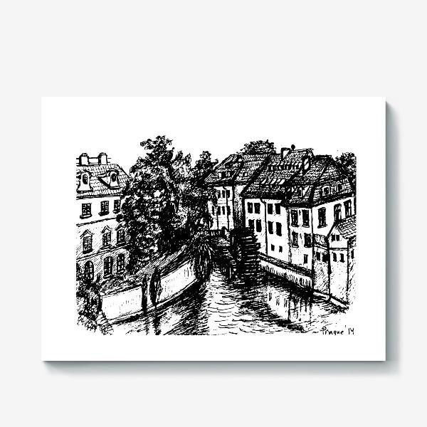 Холст «Prague walks»