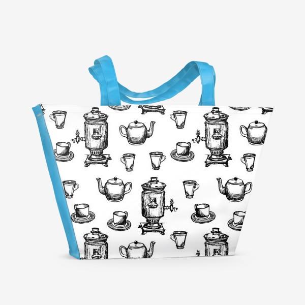 Пляжная сумка «У самовара»