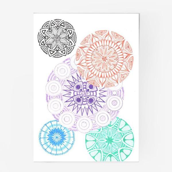 Постер «Сферические узоры»