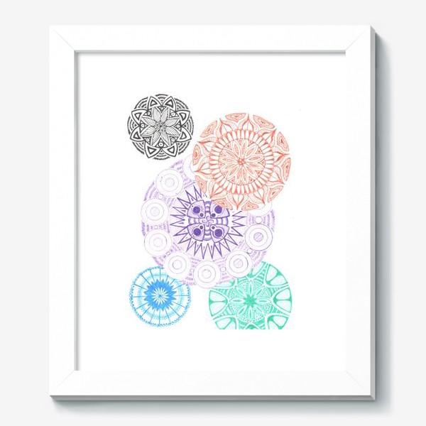 Картина «Сферические узоры»