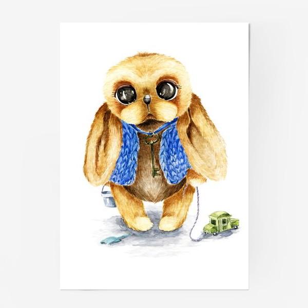 Постер «Игрушка зайка»