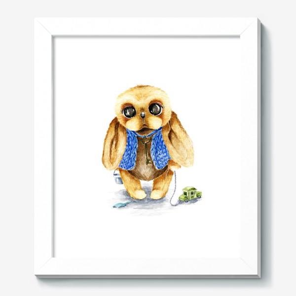Картина «Игрушка зайка»