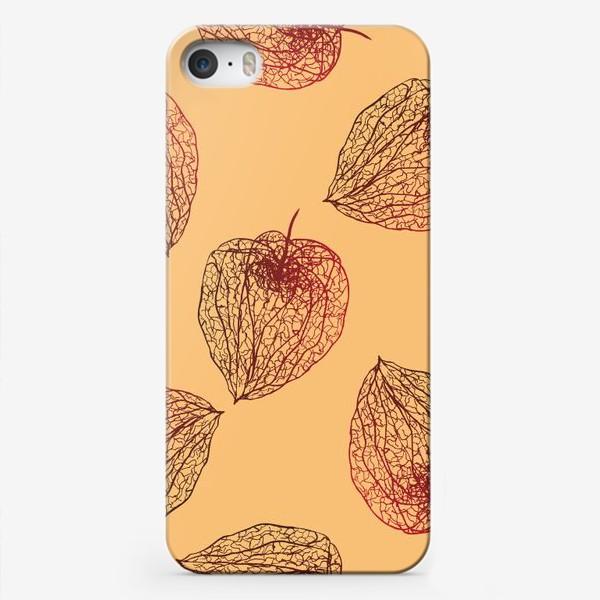 Чехол iPhone «Паттерн Физалисы»
