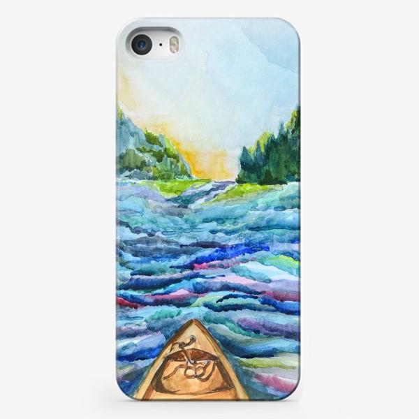 Чехол iPhone «Река»
