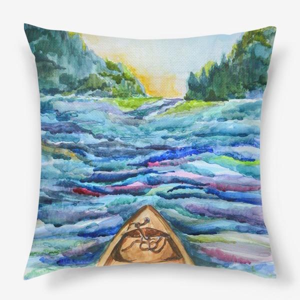 Подушка «Река»