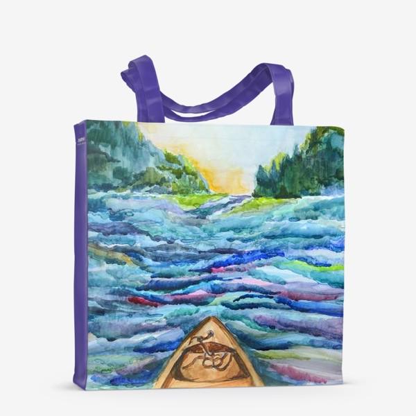 Сумка-шоппер «Река»