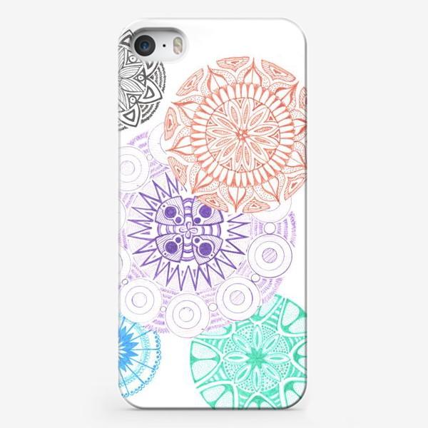 Чехол iPhone «Сферические узоры»