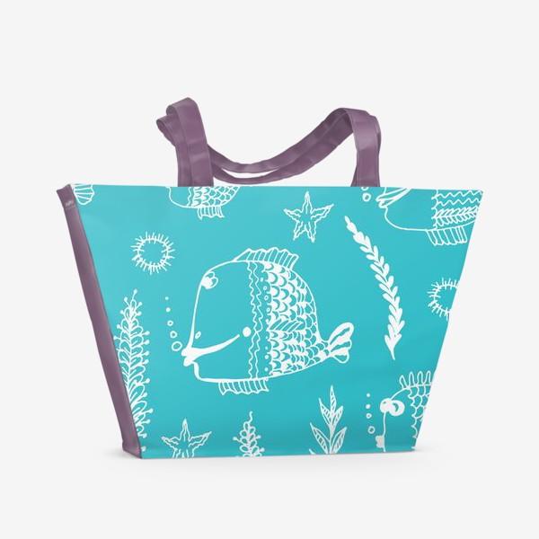 Пляжная сумка «Underwater»