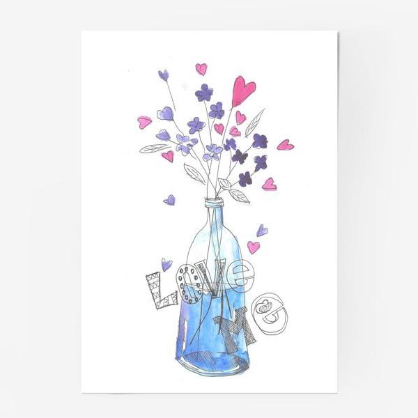 Постер «love me»