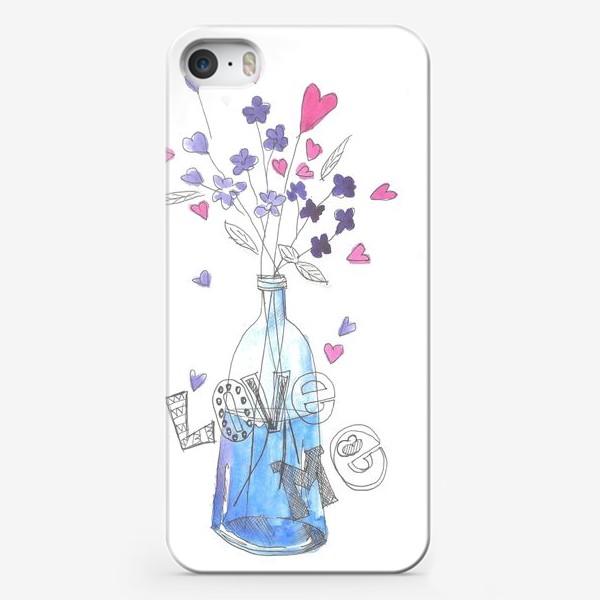 Чехол iPhone «love me»