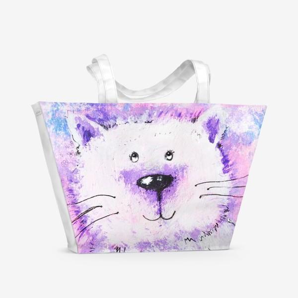 Пляжная сумка «Мартовский кот»