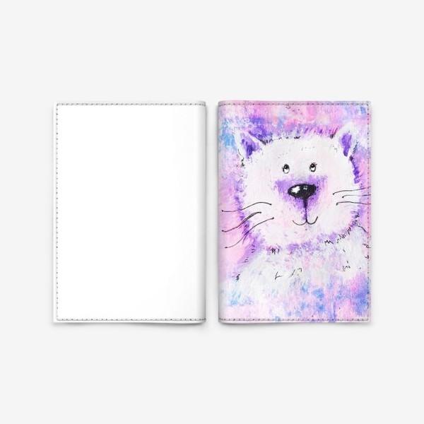 Обложка для паспорта «Мартовский кот»