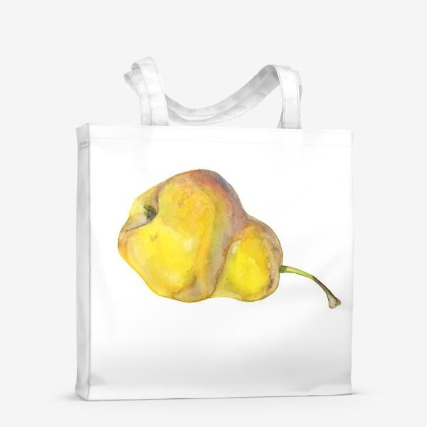 Сумка-шоппер «Жёлтая груша. Yellow pear»