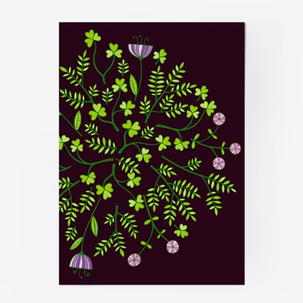 Постер «милые цветочки»