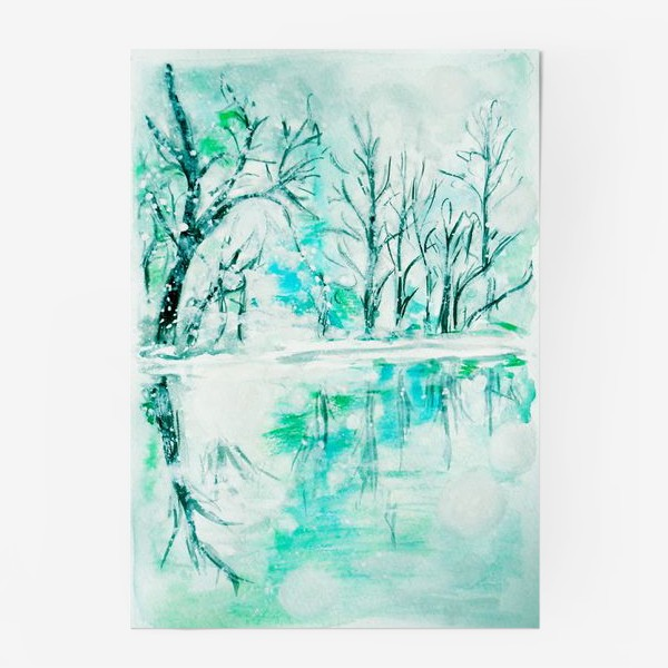 Постер «Кристальная река. Crystal river.»